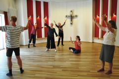 Bibliotanz Woche im Kloster Nütschau
