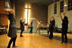 Werkstatt Kirchentanz der Christlichen AG Tanz